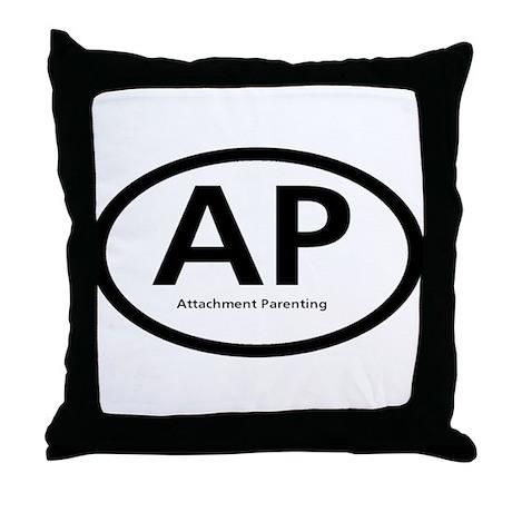 Attachment Parenting Throw Pillow