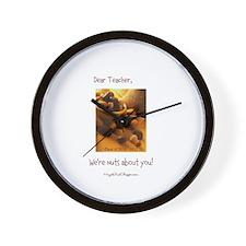 Dear Teacher Customizable Wall Clock