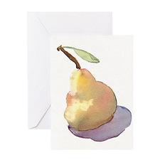pear blush Greeting Card
