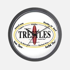 Trestles Surf Spots Wall Clock