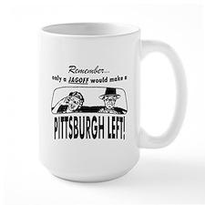 The Pittsburgh Left Mug