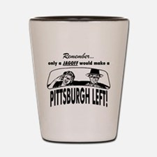 The Pittsburgh Left Shot Glass