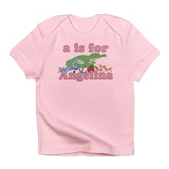 A is for Angelina Infant T-Shirt