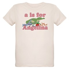 A is for Angelina Organic Kids T-Shirt