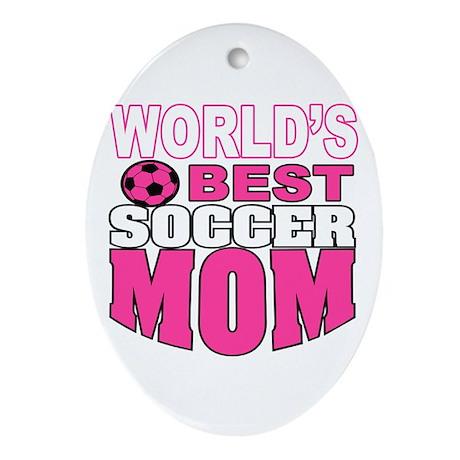 Soccer Mom Ornament (Oval)