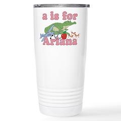 A is for Ariana Travel Mug