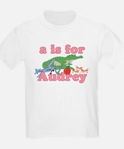 A is for Audrey T-Shirt