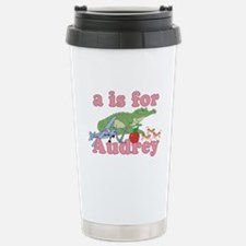 A is for Audrey Travel Mug