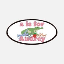 A is for Audrey Patches