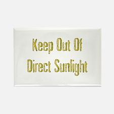 Direct Sunlight Rectangle Magnet