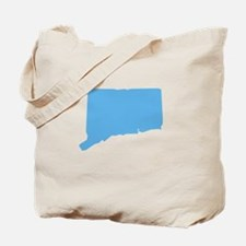 Baby Blue Connecticut Tote Bag