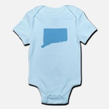 Baby Blue Connecticut Infant Bodysuit