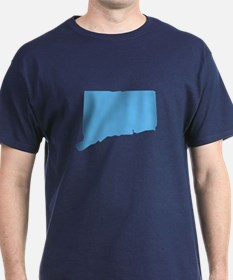Baby Blue Connecticut T-Shirt