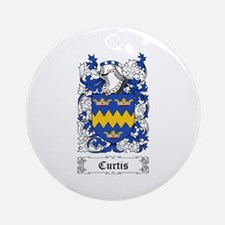 Curtis Ornament (Round)