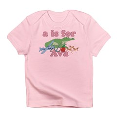 A is for Ava Infant T-Shirt