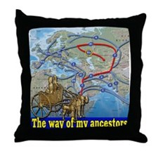 Cute Haplogroups Throw Pillow