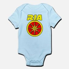 Cute Haplogroups Infant Bodysuit