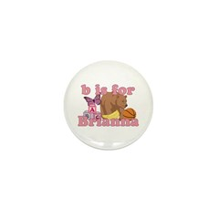 B is for Brianna Mini Button (100 pack)