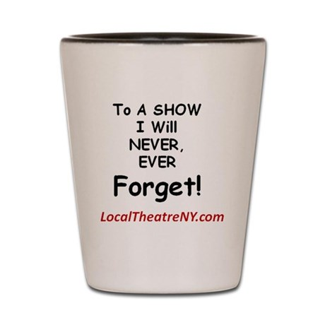 LocalTheatreNY.com Shot Glass