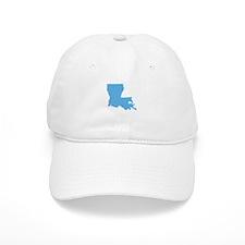 Baby Blue Louisiana Baseball Baseball Cap