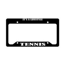 Tennis Sports License Plate Holder Frame