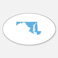 Baby Blue Maryland Decal