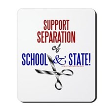 School-State Separation Mousepad