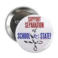"""School-State Separation 2.25"""" Button (10 pack)"""