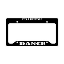 Dance Gift License Plate Holder Frame