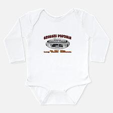 Georges Popcorn Long Sleeve Infant Bodysuit