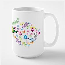 got zoomies? Ceramic Mugs
