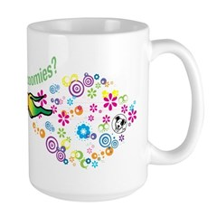 got zoomies? Large Mug