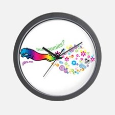 got zoomies? Wall Clock