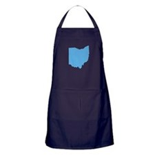 Baby Blue Ohio Apron (dark)