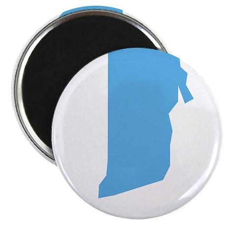 "Baby Blue Rhode Island 2.25"" Magnet (100 pack)"