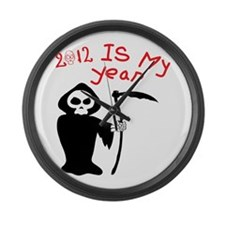 IS MY YEAR Large Wall Clock