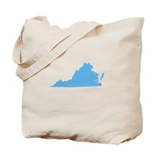 Baby Blue Virginia Tote Bag