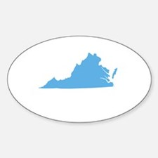 Baby Blue Virginia Decal