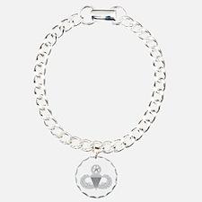 Airborne Master Charm Bracelet, One Charm