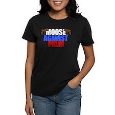 Moose Against Palin Tee