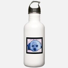 Funny Harp seal Water Bottle