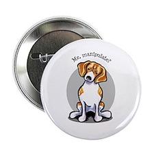 "Funny Beagle 2.25"" Button"