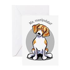 Funny Beagle Greeting Card