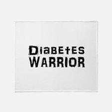 Cute Diabetes Throw Blanket