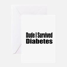 Funny Cure diabetes Greeting Card