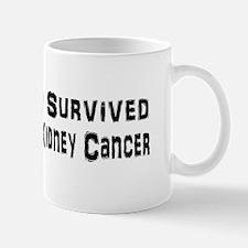 Cute Kidney cancer cure Mug