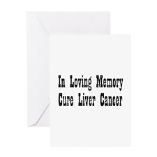Cute Liver disease Greeting Card