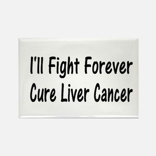 Cute Liver cancer Rectangle Magnet