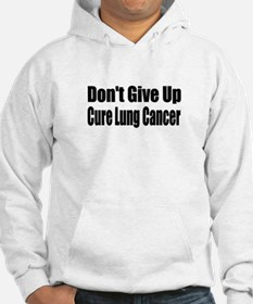 Funny Lung cancer cure Hoodie