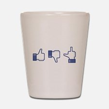 Like-Dislike-Screw Shot Glass